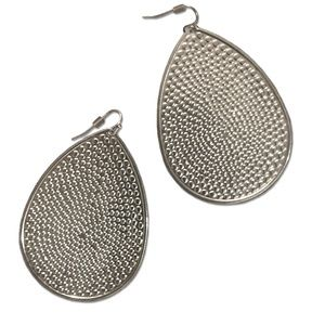Jewelry - *BUNDLE ONLY* Silver lightweight textured earrings